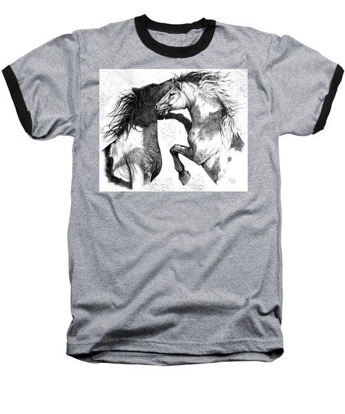 Wild And Free Baseball T-Shirt by Heidi Kriel