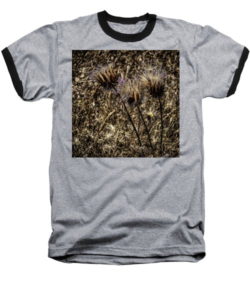 Wild Artichoke Baseball T-Shirt by Edgar Laureano