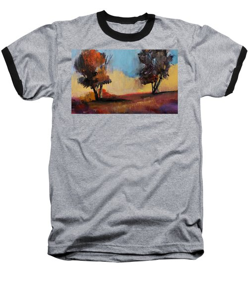 Wild Beautiful Places Trees Landscape Baseball T-Shirt by Michele Carter