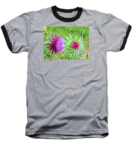 Baseball T-Shirt featuring the photograph Wild Beauty In The Meadow by Jeanette Oberholtzer