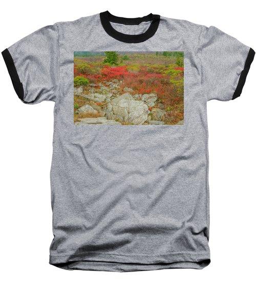 Wild Blueberries Baseball T-Shirt