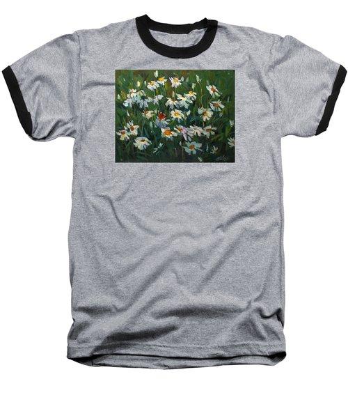 Wild Camomile Baseball T-Shirt