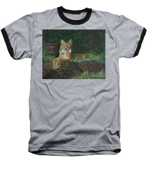 The Ever Watchful Lynx Baseball T-Shirt