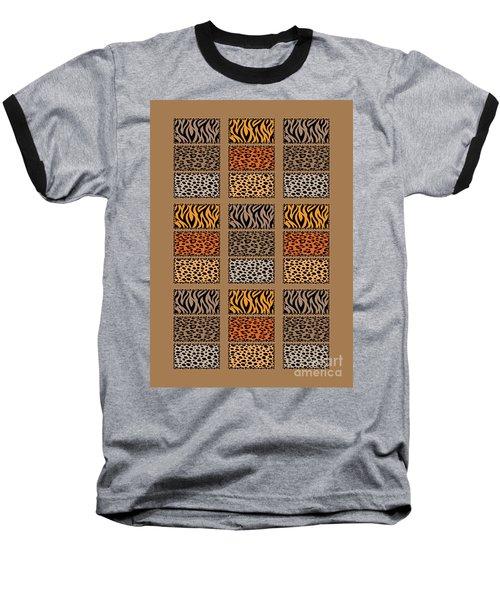 Wild Cats Patchwork Baseball T-Shirt