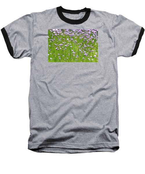 Wild Chives Baseball T-Shirt by Chevy Fleet