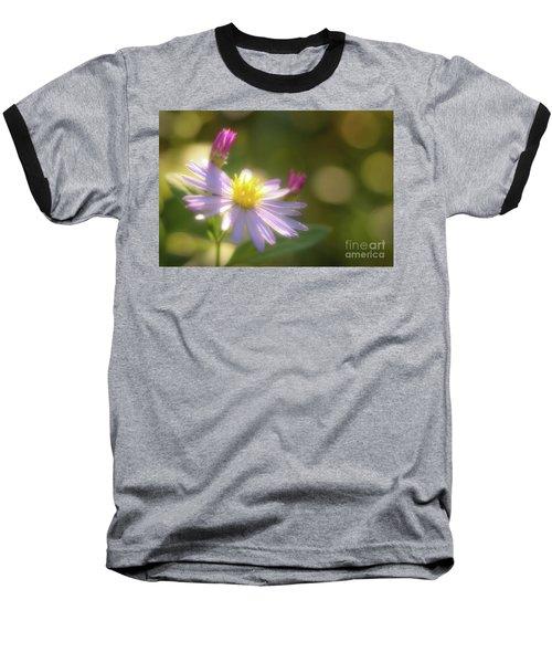 Wild Chrysanthemum Baseball T-Shirt