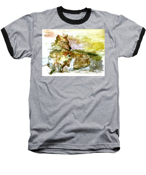 Wild Country Wolf Baseball T-Shirt