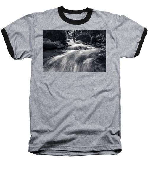 wild creek in Harz, Germany Baseball T-Shirt by Andreas Levi