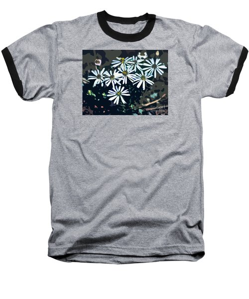 Wild Daisy Art  Baseball T-Shirt