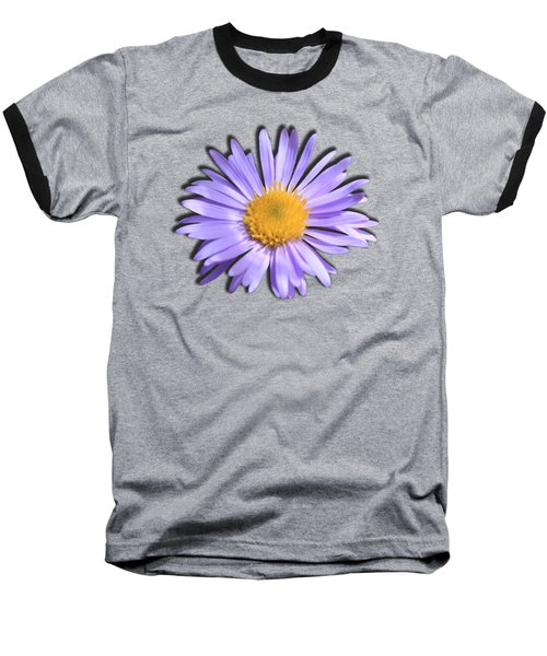 Wild Daisy Baseball T-Shirt by Shane Bechler