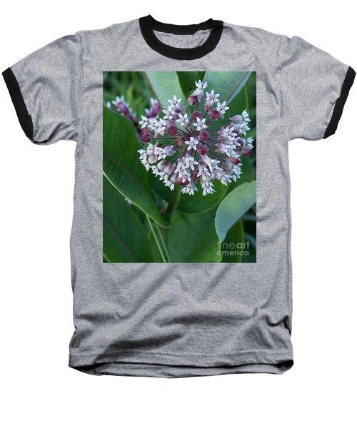 Wild Flower Star Burst Baseball T-Shirt