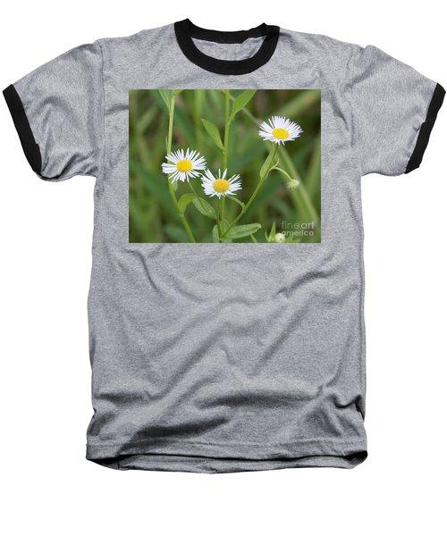 Wild Flower Sunny Side Up Baseball T-Shirt