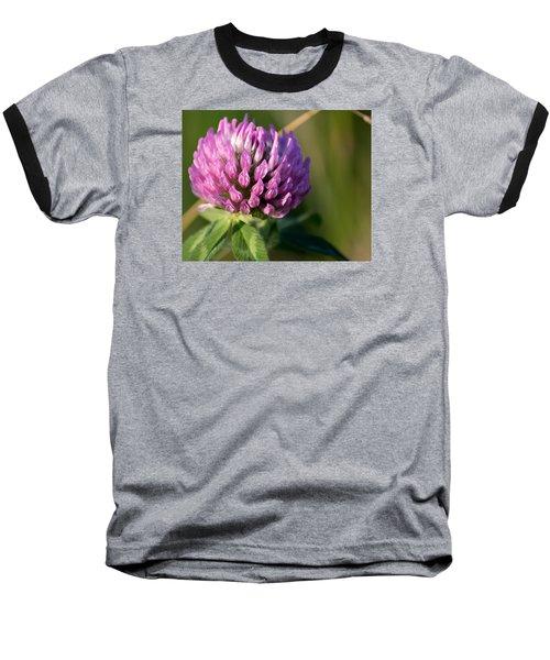 Wild Flower Bloom  Baseball T-Shirt