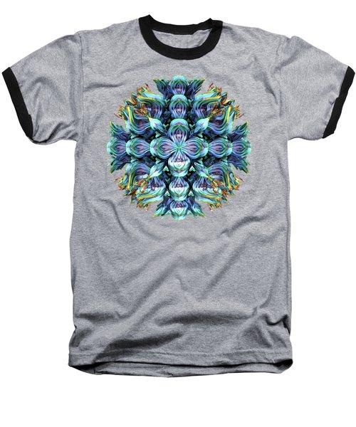 Wild Flower Baseball T-Shirt by Lyle Hatch