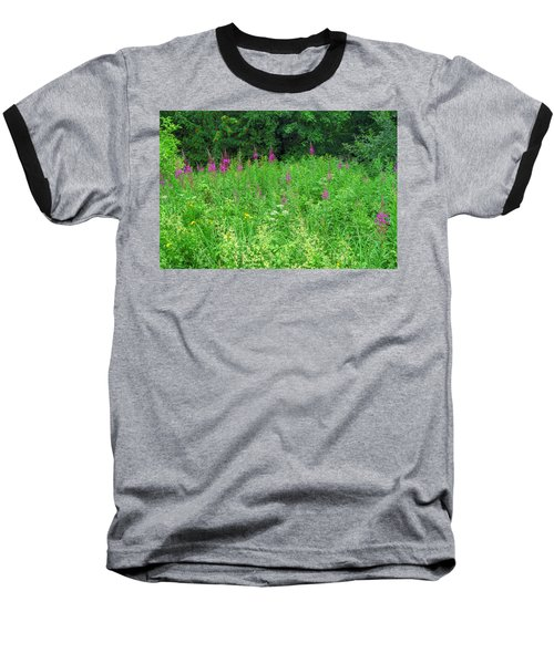 Wild Flowers And Shrubs In Vogelsberg Baseball T-Shirt
