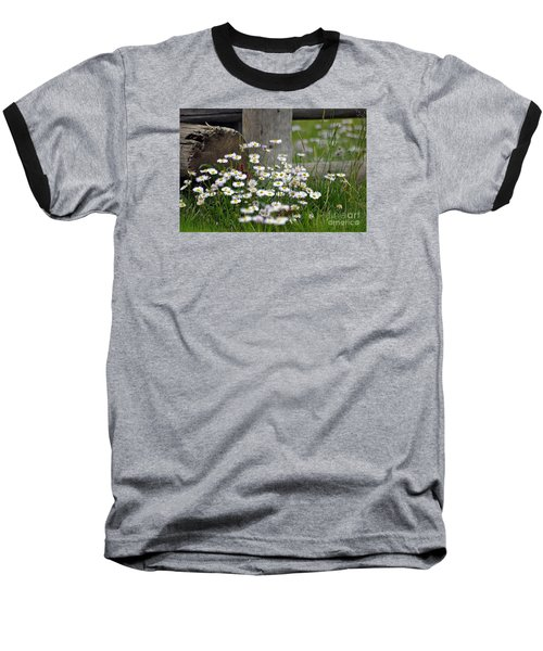 Baseball T-Shirt featuring the photograph Wild Flowers  by Juls Adams
