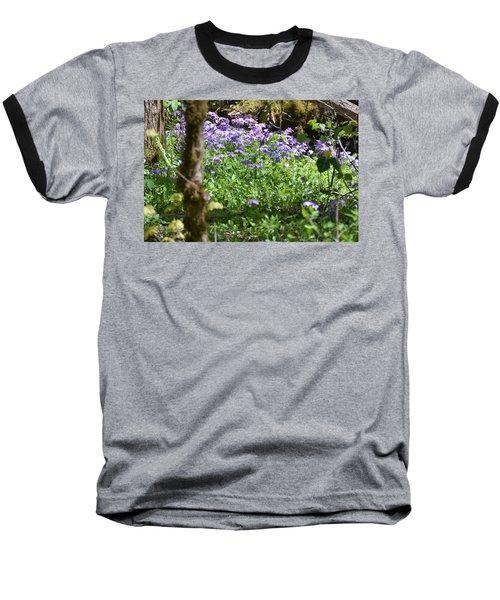 Wild Flowers On A Hike Baseball T-Shirt