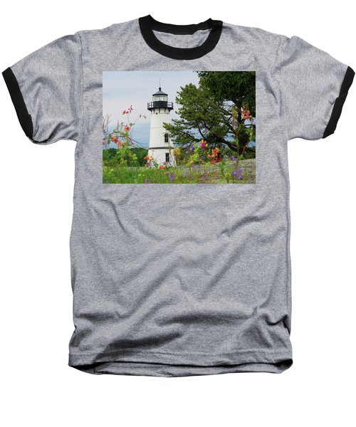 Wild Flowers On Rock Island Baseball T-Shirt