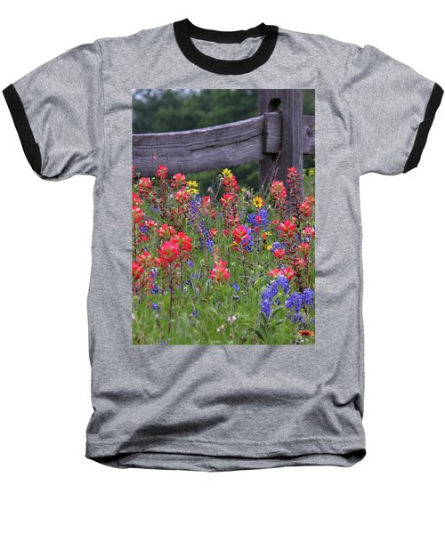 Wild Flowers Baseball T-Shirt