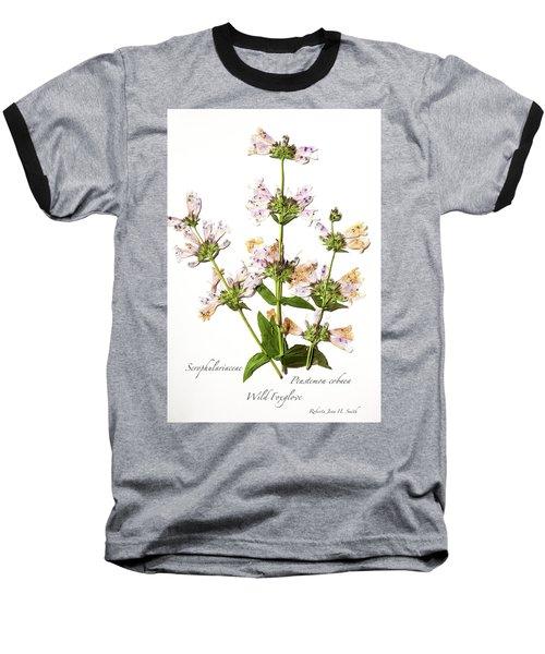 Wild Foxglove Baseball T-Shirt