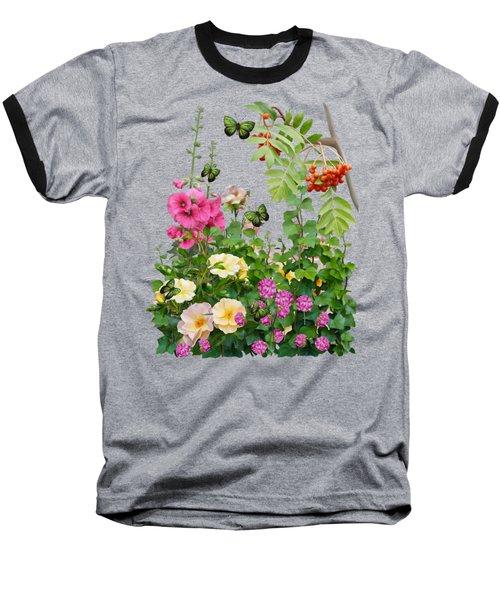 Wild Garden Baseball T-Shirt