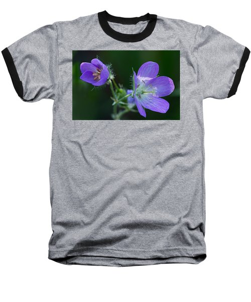 Wild Geraniums Baseball T-Shirt