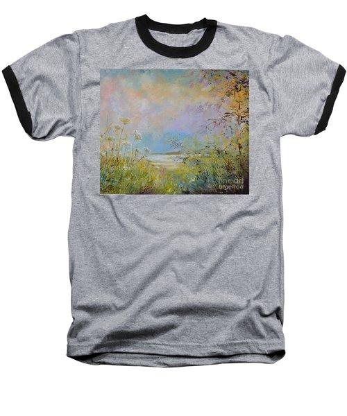Wild Grasses Of Saugatuck Baseball T-Shirt
