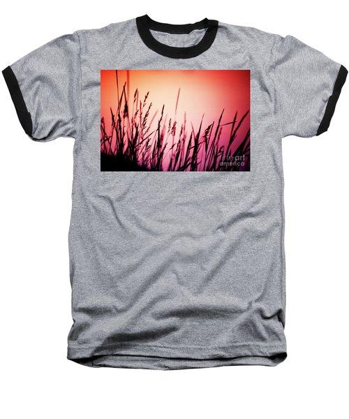Wild Grasses Baseball T-Shirt