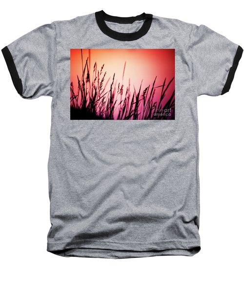 Wild Grasses Baseball T-Shirt