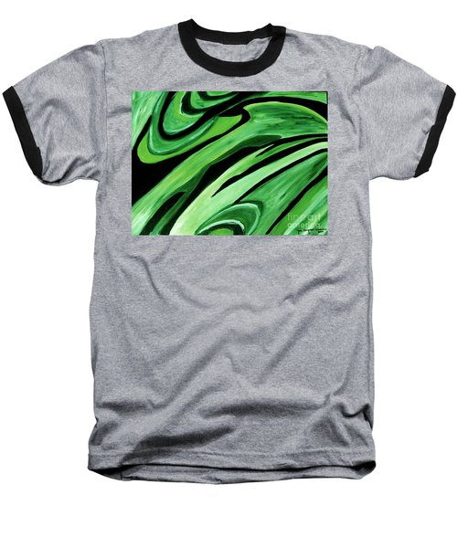Wild Green Baseball T-Shirt