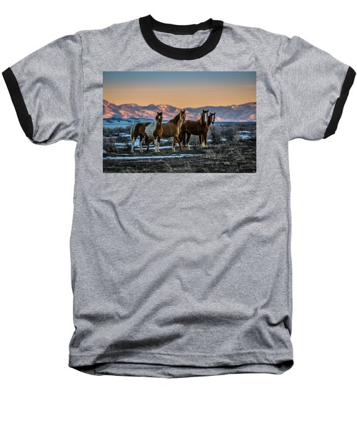 Wild Horse Group Baseball T-Shirt