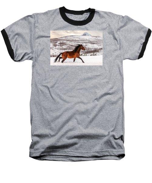 Wild Horse Baseball T-Shirt