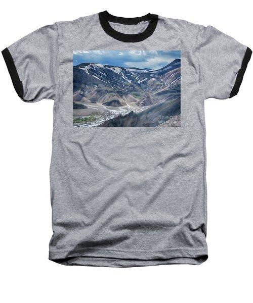 wild Iceland 3 Baseball T-Shirt