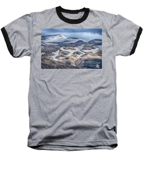 wild Iceland 4 Baseball T-Shirt