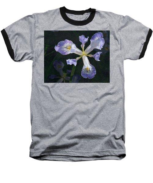 Wild Iris 2 Baseball T-Shirt by I'ina Van Lawick