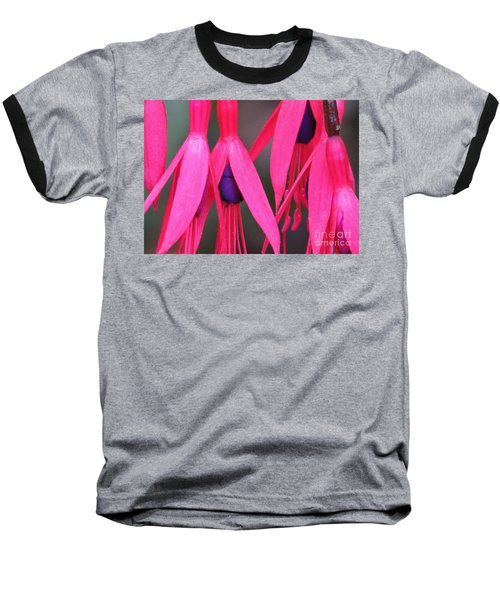 Baseball T-Shirt featuring the photograph Wild Oregon Fuchsia  by Michele Penner