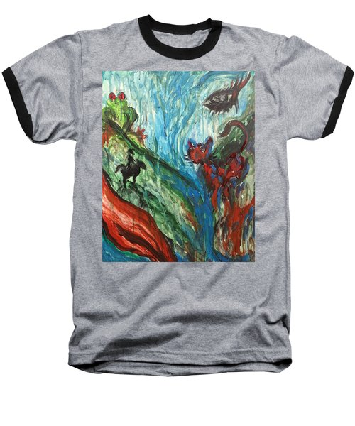 Wild Periscope Collaboration Baseball T-Shirt