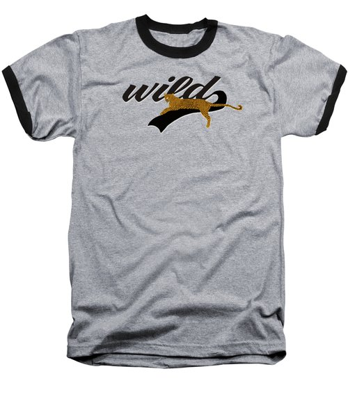Wild Baseball T-Shirt by Priscilla Wolfe
