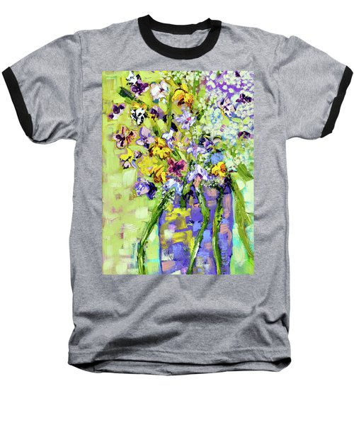Wild Profusion Baseball T-Shirt by Lynda Cookson