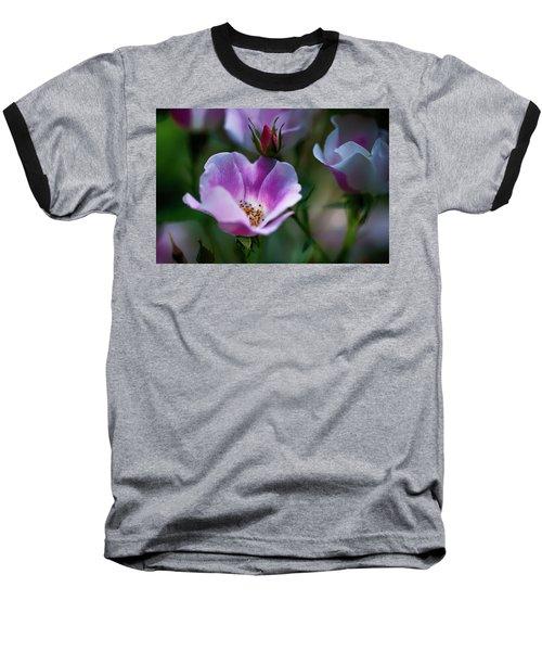 Wild Rose 7 Baseball T-Shirt
