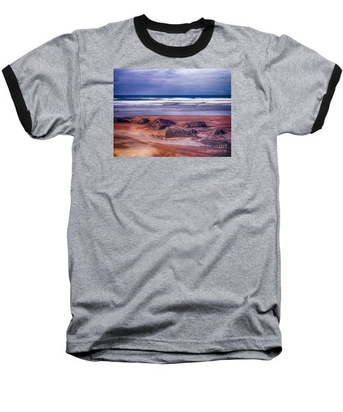 Sand Coast Baseball T-Shirt by Juergen Klust