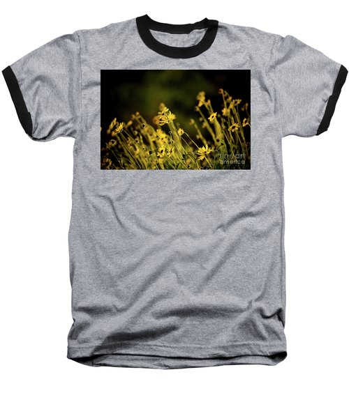 Baseball T-Shirt featuring the photograph Wild Spring Flowers by Kelly Wade
