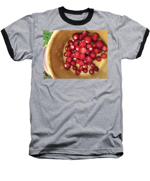 Wild Strawberry Baseball T-Shirt