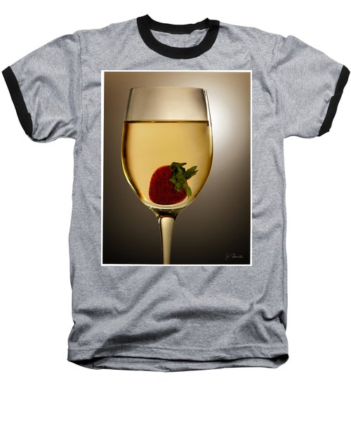 Baseball T-Shirt featuring the photograph Wild Strawberry by Joe Bonita