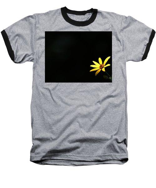 Wild Sunflower Stony Brook New York Baseball T-Shirt by Bob Savage
