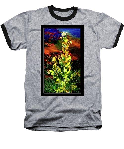 Wild Thai Lake Jasminum - Photo Painting Baseball T-Shirt