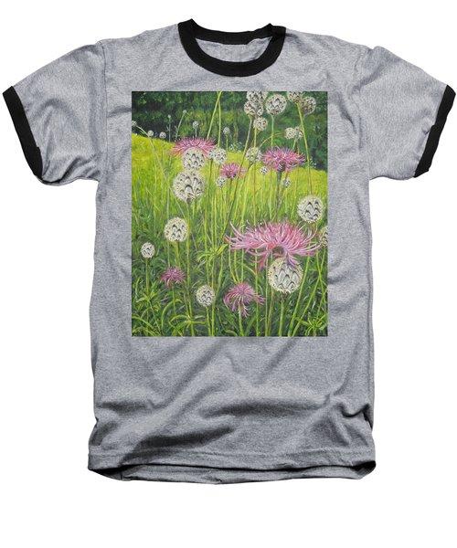 Wild Thistles Baseball T-Shirt