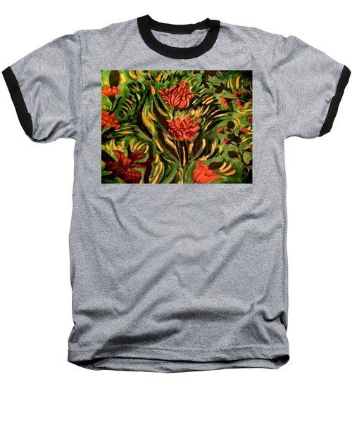 Wild Tulips Baseball T-Shirt