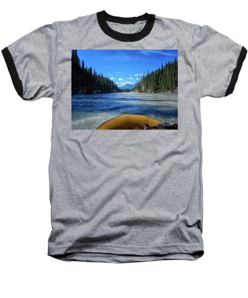 Wild Water Rafting Baseball T-Shirt
