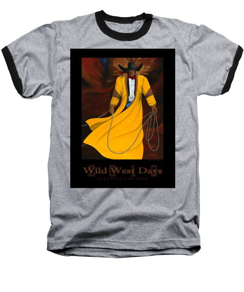 Wild West Days 2012 Baseball T-Shirt